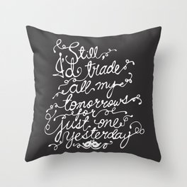 Fall Out Boy - 'Just One Yesterday' Throw Pillow
