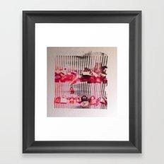 Love Lock Gate Framed Art Print