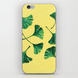 Ginkgo Leaves iPhone Skin
