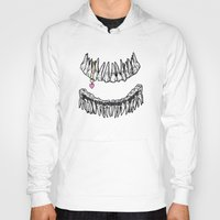 tooth Hoodies featuring Sweet Tooth by Corinne Elyse