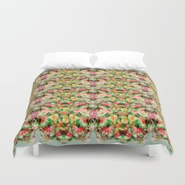 Green Fern Duvet Cover