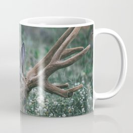 BUCK EATING GRASS Coffee Mug