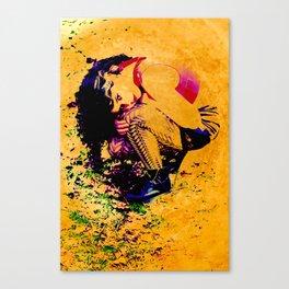 Kara Abstract Canvas Print