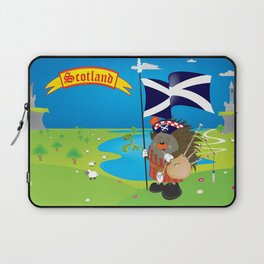 Greetings from Scotland Laptop Sleeve