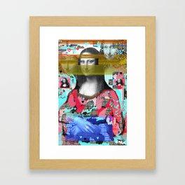 My Mona Framed Art Print