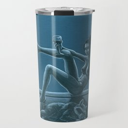 Tracy Queen: Royal Blues Travel Mug