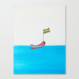 Enjoy your trip Canvas Print