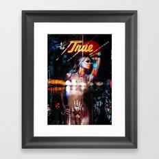 A Girl named Truth Framed Art Print