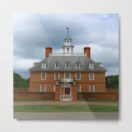 Governers Palace Colonial Williamsburg Metal Print