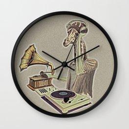 Retro DJ Wall Clock