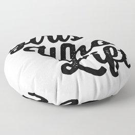 Girls Who Lift Floor Pillow