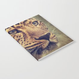 Leopard portrait Notebook