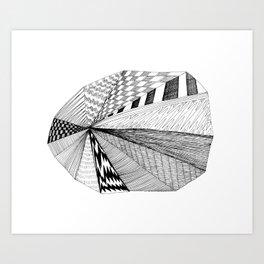 Pie Chart Art Print