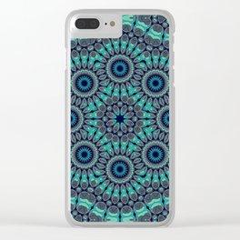 Water Mandala Clear iPhone Case