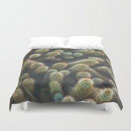 Botanical Gardens Cactus #596 Duvet Cover