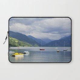 Blue mountain lake Laptop Sleeve