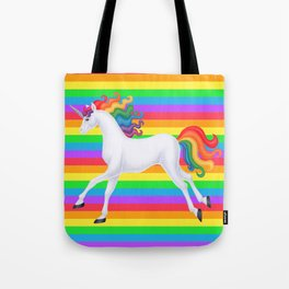 wanderlust (rainbow unicorn) Tote Bag