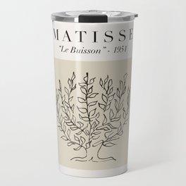 "Matisse - ""Le Buisson"", Mid Century Abstract Art Decor Travel Mug"