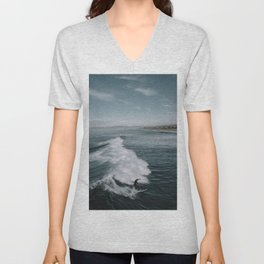 Summer Surf Session II Unisex V-Neck
