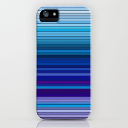 50 Shades of BLUE - Living Hell iPhone Case