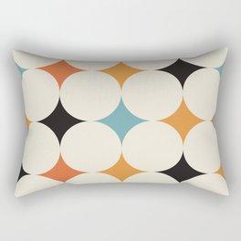 Art print mid century modern, mid century modern art, mid century modern decor, prints, abstract art Rectangular Pillow