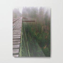 Vance Creek Bridge.  Metal Print