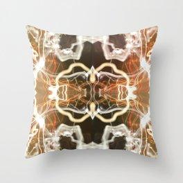 LED Lights Long Exposure Throw Pillow