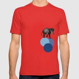 elephant balance T-shirt