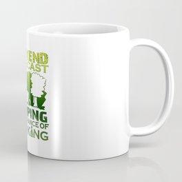 WEEKEND FORECAST CAMPING Coffee Mug