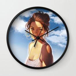 Summer memories Wall Clock