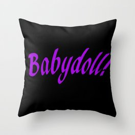 Babydoll Throw Pillow