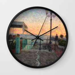 Magic atmosphere Wall Clock