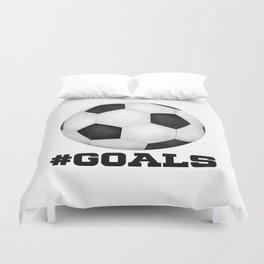 #Goals Duvet Cover
