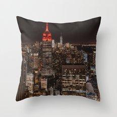 New York NY Throw Pillow