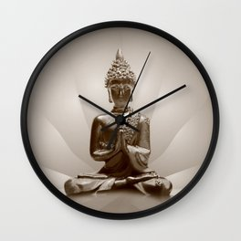 Buddha 13 Wall Clock