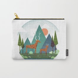 Deer and son Carry-All Pouch
