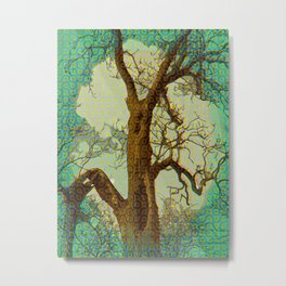 Spirit of the Wind; Green. Metal Print