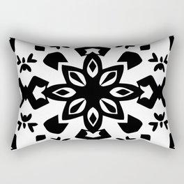 Callisto III (White) Rectangular Pillow