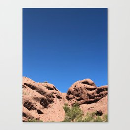 red rock buttes Canvas Print