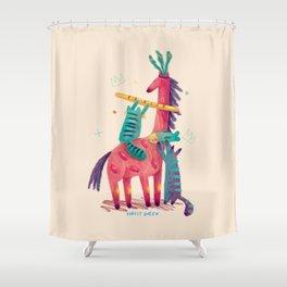 Forest Queen Shower Curtain
