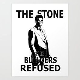 Bushmaster 'Stone The Builders Refused' Art Print