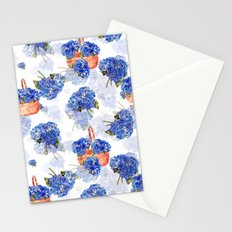 Cape Cod Hydrangeas and Baskets Stationery Cards