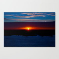And With Every Breath, There You Are Canvas Print