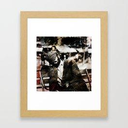 Per ora la chiamiamo felicità Framed Art Print
