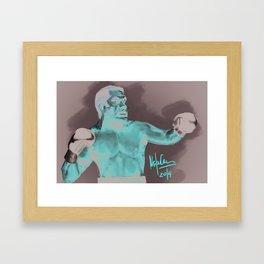 The Cobra Framed Art Print