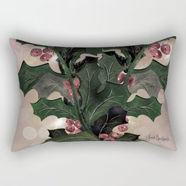 Holly For You Rectangular Pillow