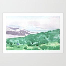 Paesaggio #3 Art Print
