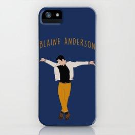 Blaine Anderson - Wanna Be Startin' Something iPhone Case