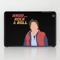 marty mcfly iPad Cases featuring Marty McFly by Christina