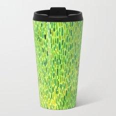 Watercolor Grass Pattern Green by Robayre Travel Mug